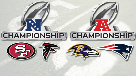 Afc Nfc Logo This Weekend The Nfc And Afc