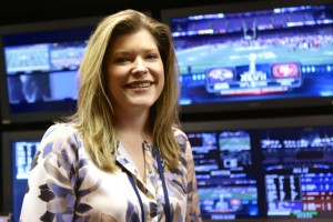 Marla Schmettau, CBS Sports, director of graphics, oversaw a new look for graphic inserts and animations.