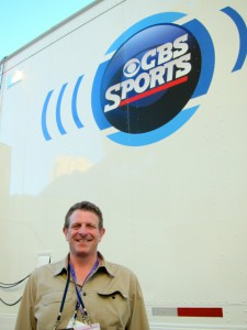 Bruce Goldfeder, CBS Sports, VP of Engineering, was point man for operations at the Superdome for Super Bowl XLVII.
