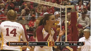 Cyclones.tv broadcasts Iowa State's third-tier rights, including women's basketball, wrestling, volleyball, and gymnastics.