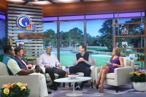 The new studio aims to make viewers feel like Morning Drive is taking place at their local clubhouse.