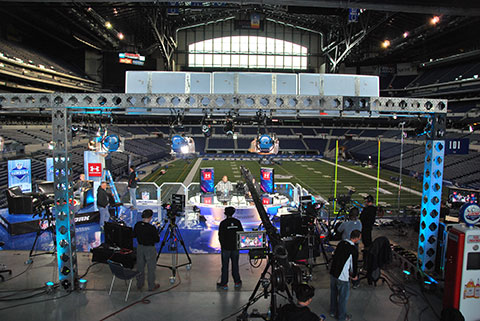 For the Scouting Combine, NFL Network is rolling out an effort equal to its broadcast productions.