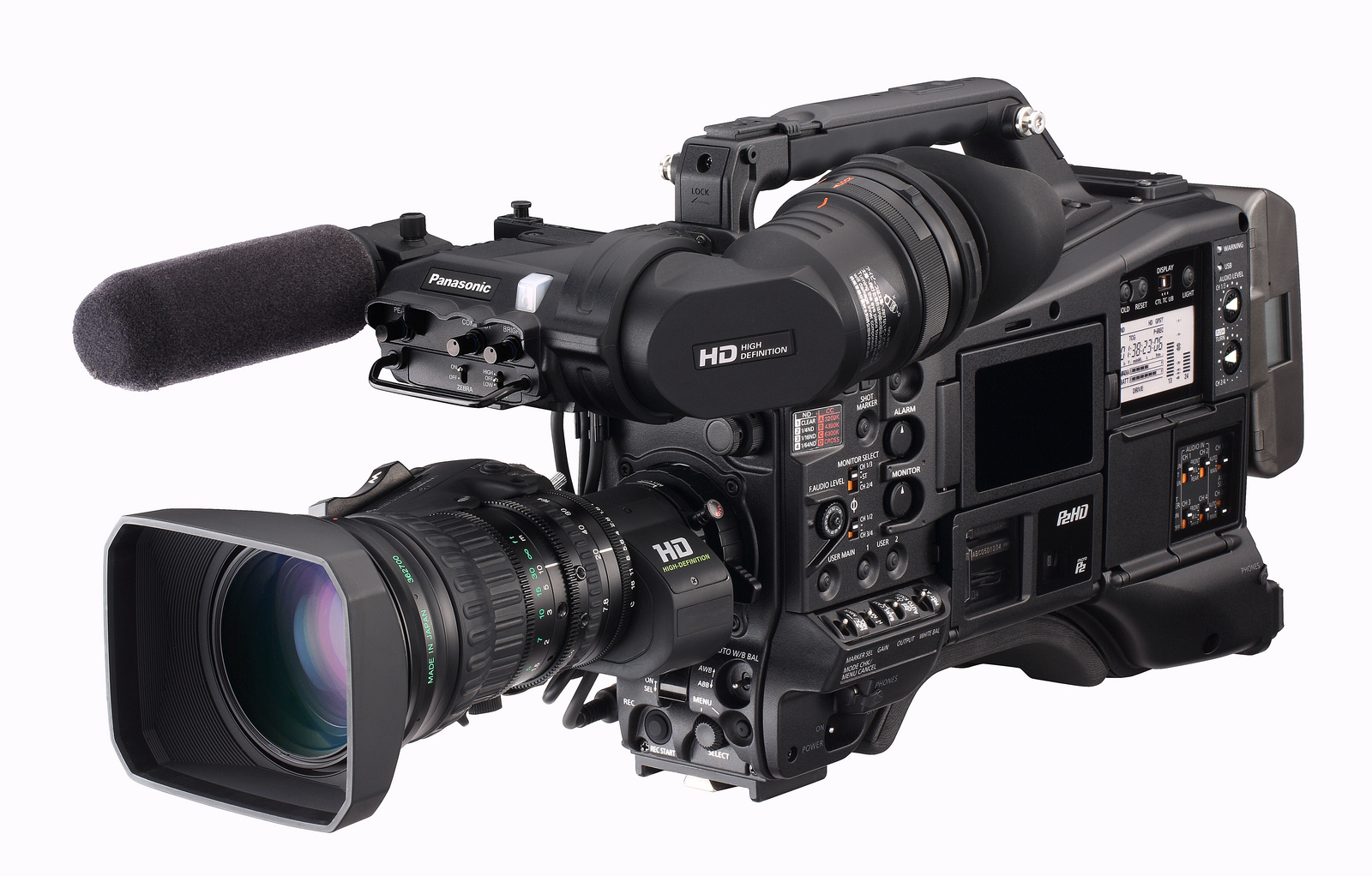 panasonic heads to nab with focus on better hd avc ultra. Black Bedroom Furniture Sets. Home Design Ideas