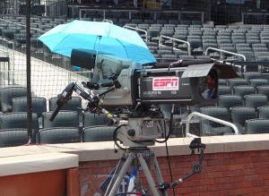 One of 28 cameras on hand at Citi Field for the Derby.