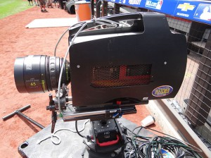 One of several robo-cams provided to ESPN by Fletcher Sports.