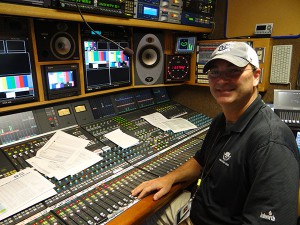 About active 100 inputs makes the MLB All Star Game A Challenge To Mix for Fox Sports A1 Joe Carpenter.