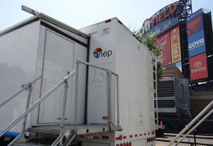 NEP's SS-25 served as the home of ESPN's Home Rune Derby production.