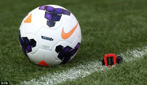 Sony's Hawk-Eye technology will alert the referee of a goal in a manner of seconds. (Getty Images)