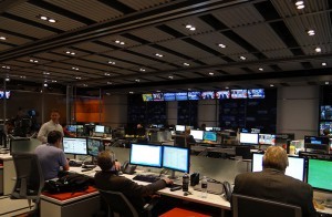 The new Fox Sports newsroom