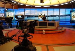 Studio A prepares for its Fox Football Daily debut