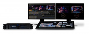 All Patriot League Network live events are built around the NewTek TriCaster 455 production switcher.