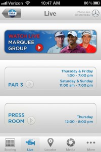 PGA Championship LIVE features live marquee-group coverage throughout the tournament.