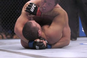 FenceCam 'erases' the chain-link fence to let viewers see UFC mat-level action.