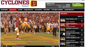 Cyclones.tv is now also available as a 24/7 television network via cable provider Mediacom.