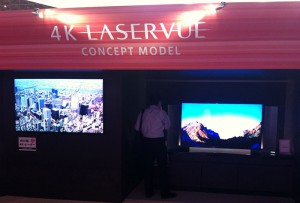 Mitsubishi's LaserVue technology has found second life, thanks to the 4K boom.