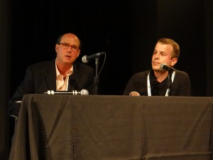 Showtime's Gordon Hall (left) and Ben Dignan