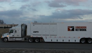 Lyon Video debuted two new trucks this year for ESPN, Lyon 3 (pictured) and Lyon 4.