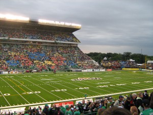 Mosaic Stadium at Taylor Field in Saskatchewan will host this month's Grey Cup.