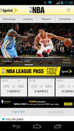 NBA Digital launched a redesigned version of the league's signature mobile app, NBA Game Time.