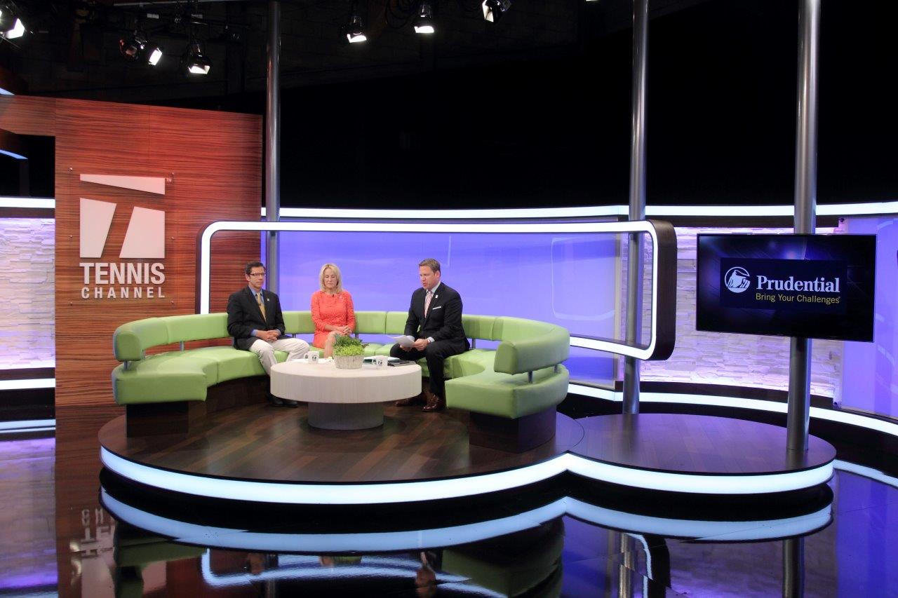 Home Sweet Home Tennis Channel Debuts New Central Studio