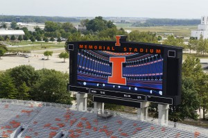 Daktronics designed and installed a new A/V system at University of Illinois's Memorial Stadium.