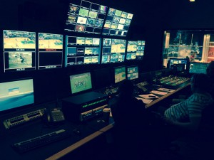 The Altitude control room handles five HD channels.