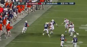 VIDEO: Watch how CBS Sports' covered the wild finish to Saturday's Iron Bowl.