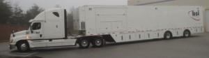 The new BSI 53-foot trailer will handle RF for CBS Sports.