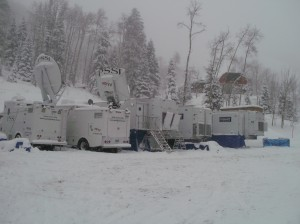Game Creek Video's Dynasty and Gemini production units played a key role at a World Cup skiing event at Beaver Creek last month.