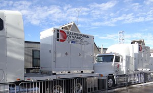 Illumination Dynamics is providing redundant power for the entire X Games compound.