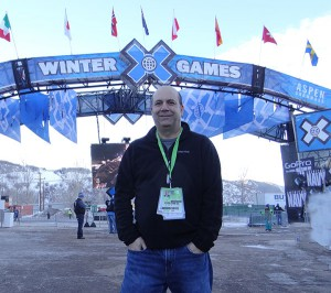 Senior Coordinating Producer Phil Orlins on hand in Aspen