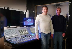Kent Ford, Broadcast Audio Engineer (left) and  John Carlyle, Sound Engineer (right)