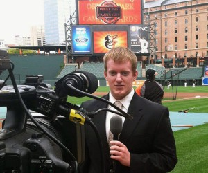 Josh Birch, former University of Maryland graduate student, was awarded Best of Festival for Sports in the Broadcast Education Association (BEA) Festival of Media Arts awards.