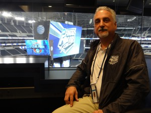 """[The videoboard is] always the center of attention, so we have to make a show as good as its position in the building."" - Dwin Towell, Dallas Cowboys"