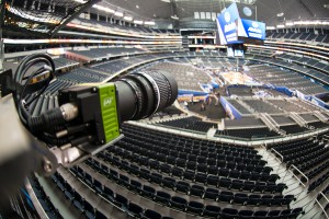 Replay Technologies updated all 24 cameras inside AT&T Stadium from 4K to 5K in time for the Final Four.