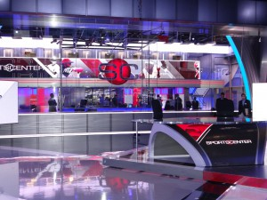 The crown jewel of DC-2 is the nearly 10,000-sq. foot SportsCenter studio, which is twice the size of the show's current home.