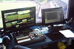 The Tampa Bay Rowdies are broadcasting home games with the help of the Broadcast Pix Granite 1000 production switcher.