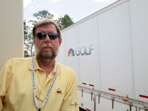NEP Technical Manager Ken Carpenter says one of the toughest challenges at this year's Open is the sweltering heat.