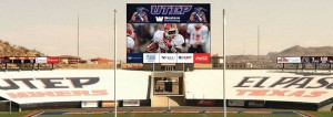 Daktronics will provide LED displays for football and basketball venues at UTEP.