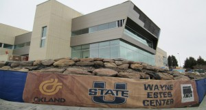 The Wayne Estes Center is scheduled to open for the 2014-15 academic year.