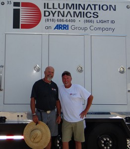 Illumination Dynamics Lead Generator Technician Bruce Ward (left) and Director of Broadcast Services Rich Williams have worked a combined total of 53 X Games events.