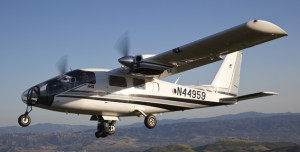 AVS's Partenavia P68 Observer aircraft will supply aerial coverage for MLB Network and Fox Sports.