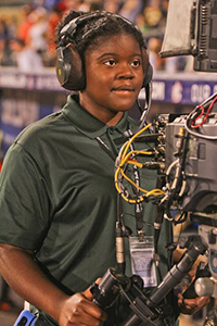 Explorer Post 50 offers students ages 14-20 the opportunity to work on live television broadcasts.