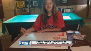 NESN integrates fan-submitted video into live telecasts of Red Sox games.