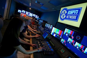 University of Florida's rebuilt centralized control room is located in the College of Journalism and Communications building.
