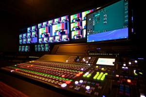 The control room has been redesigned to handle simultaneous live streaming and in-venue videoboard productions.