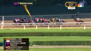 SMT's ISOTrack system live tracked California Chrome during last month's Belmont Stakes.