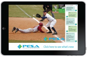 The PESA XSTREAM Live Mobile Video App was first introduced at InfoComm.
