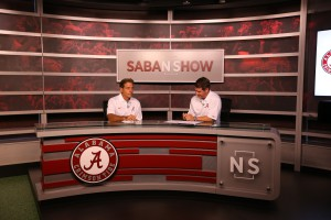 CTP's set for its weekly 'The Nick Saban Show' inside the new Digital Media Center