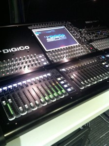 Digico audio console